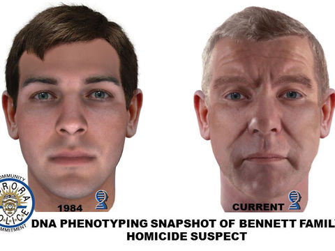Image of cold case homicide suspect created using DNA