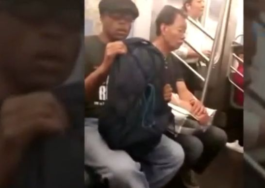 Man suspected of masturbating on NYC subway in viral video arrested