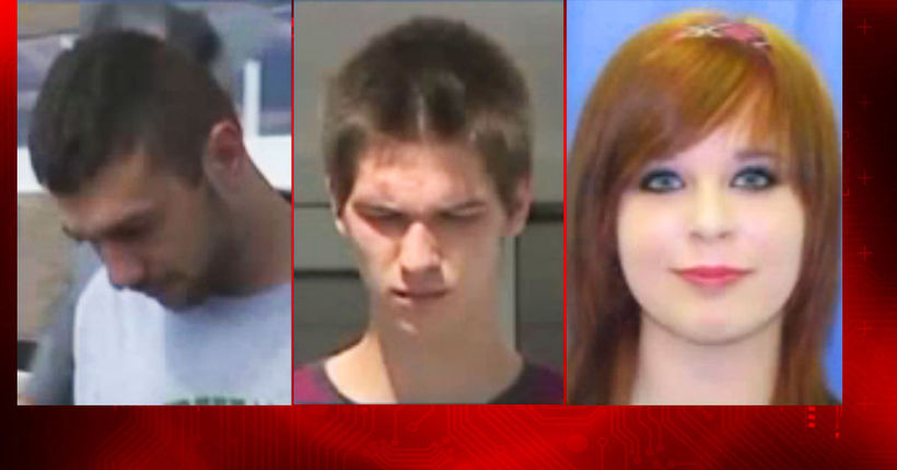 Trio allegedly strangled overdosing man, dressed up his body and drove around with it