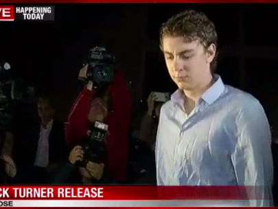Convicted sex offender Brock Turner released from jail after 90 days