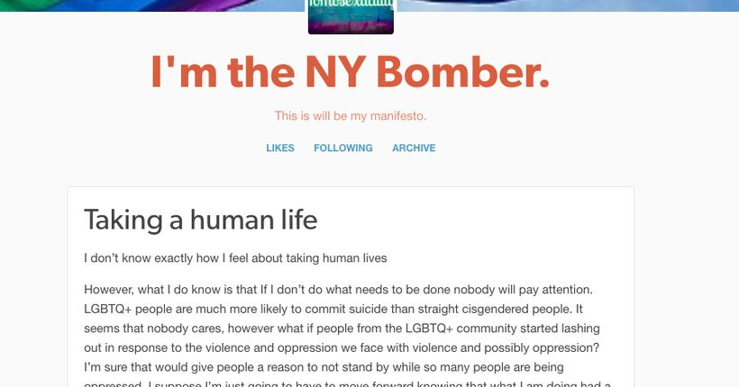 NYPD: Online manifesto by individual claiming responsibility for Chelsea explosion faked