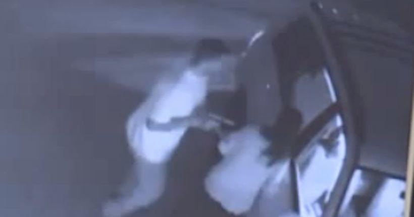 Brazen, terrifying armed robbery caught on video