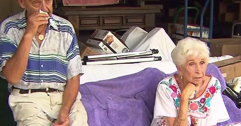 Couple in their 80s loses home after allegedly being scammed by grandson