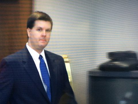 Justin Ross Harris speaks in court