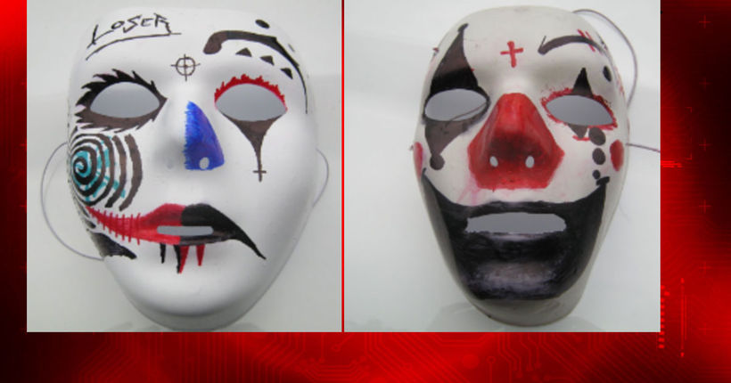 Masks found near Puyallup's Rogers High after reports of clown with knife