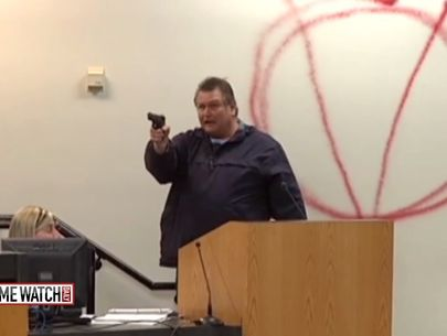 Heroes act to save others as gunman shoots up school board meeting