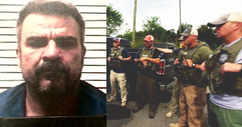 CAPTURED: Fugitive murder suspect William Greer
