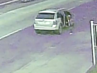 Video: Car stolen with child inside