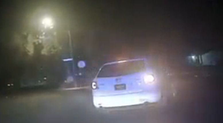 WATCH: Suspects shoot at police during chase with civilian ride-along