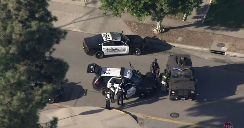 Female Suspect Remains at Large After 4 Shot, 1 Fatally, in Azusa; Memorial Park Polling Place Closed