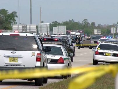 Witness: Armed person shoots, kills suspect attacking deputy
