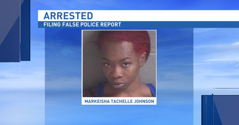 Woman charged with filing false police report after claiming to be kidnapped on Facebook