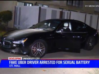 Fake Uber driver in Maserati arrested for sex assault