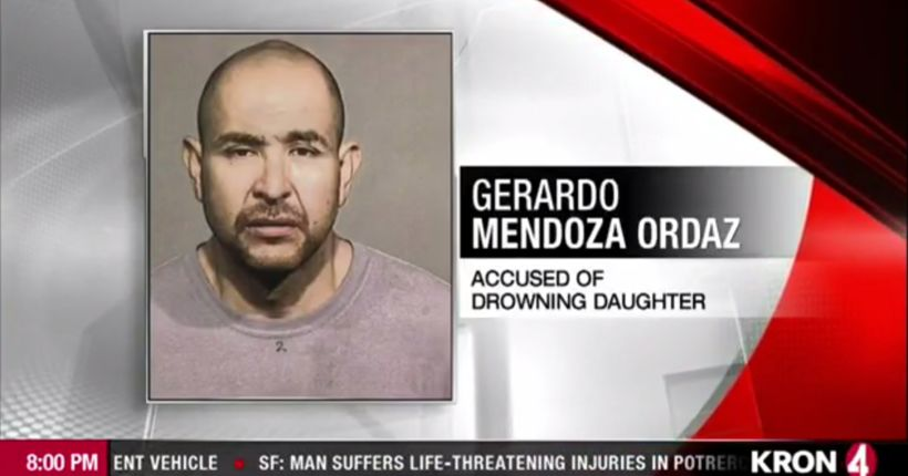 Healdsburg father arrested for allegedly drowning his 4-year-old daughter