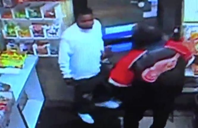 Deadly argument and fight inside gas station caught on tape