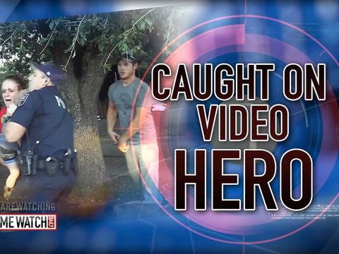 Caught on camera: Texas cop saves toddler's life