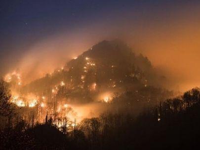 2 juveniles arrested for arson in Smoky Mountain, Gatlinburg fires