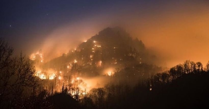 2 juveniles arrested for arson in Smoky Mountain, Gatlinburg fires