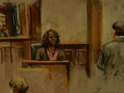 Judge denies mistrial after church shooting survivor calls suspect 'evil'