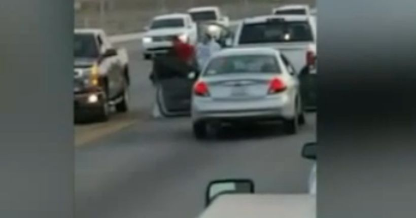 Video: 3 women beat man in road rage attack