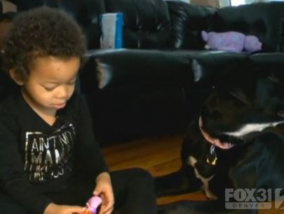 Prison-trained puppy helps little girl overcome anxiety