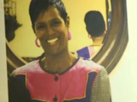 Family holds vigil for woman shot with her own gun while walking dogs