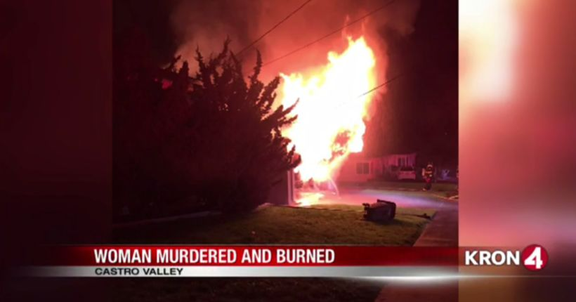 VIDEO: Woman murdered, burned in Castro Valley cover-up