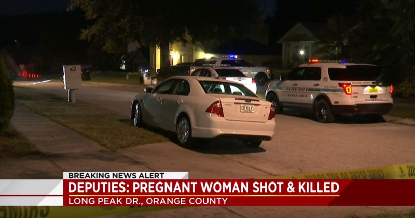 Pregnant mother of 2 shot to death answering door in Orange County