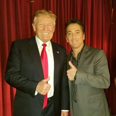 Scott Baio accuses rocker's wife of battery over Trump support