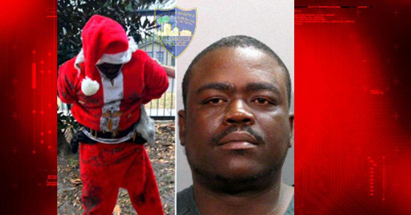 Man dressed as Santa had marijuana, molly, ecstasy, police say