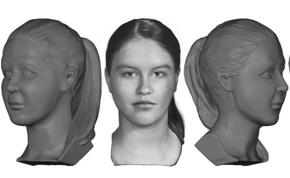 Facial reconstruction shows girl found dead in Clark County in 1980