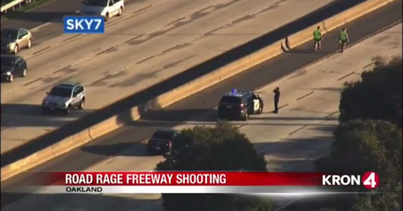 VIDEO: CHP investigating shooting on Interstate 580 in Oakland as road rage