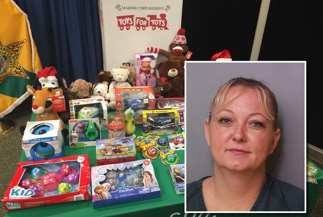 Polk County deputies arrest 'Grinch' for stealing from Toys for Tots