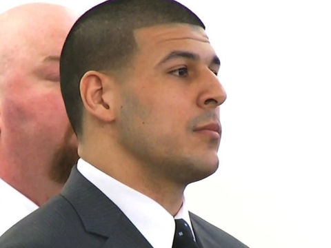 Hernandez had bible verse on forehead before death