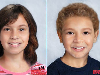 Age progression photos released of 2 missing Maryland children