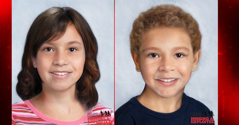Age progression photos released of two missing Montgomery County children