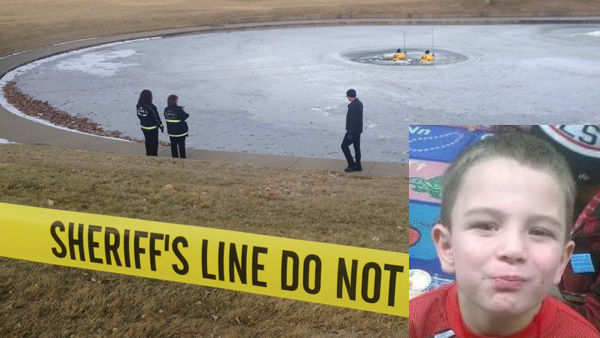 Body believed to be of missing 6-year-old Aurora boy found in park pond