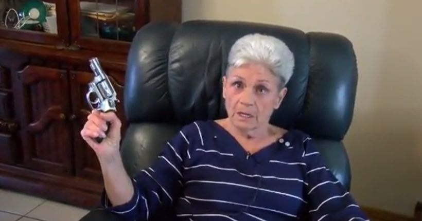 74-year-old grandmother armed with handgun shoots at suspect who broke into wrong home