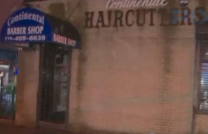 Customer dragged from barbershop, thrown into van