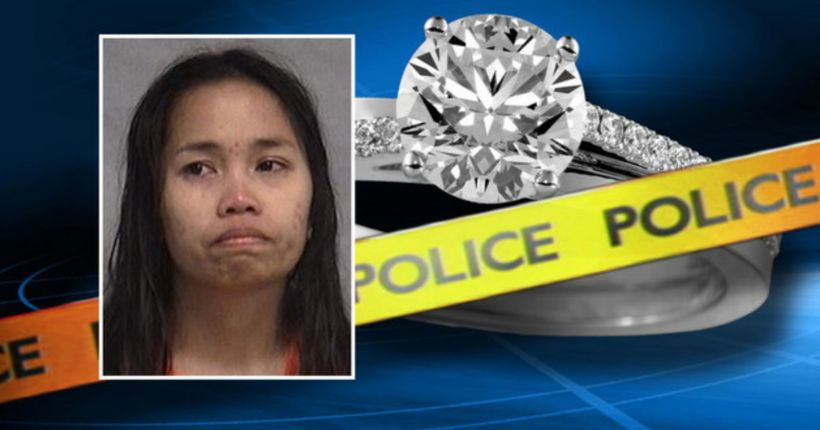 Deputies: Woman hits fiance with 2-by-4 over engagement ring