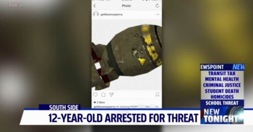 Perry Meridian sixth-grader accused of making online threats arrested by Homeland Security