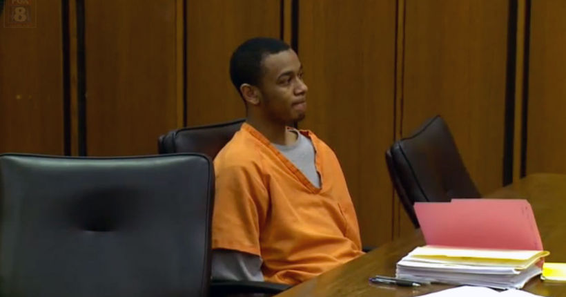 I TEAM: local rapper facing charges uses courtroom for video shoot