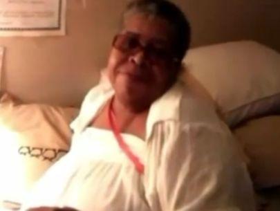Surveillance video, person of interest in murder of grandmother