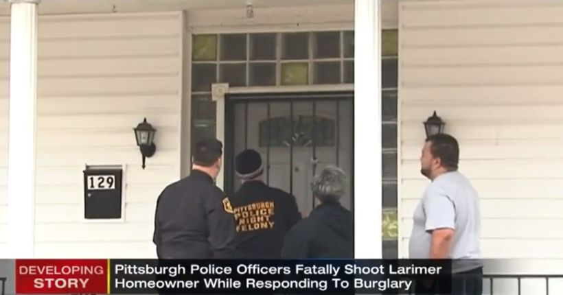 Police fatally shoot homeowner while investigating burglary