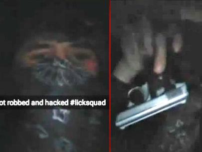 Thieves rob man at gunpoint, brag on victim's Snapchat