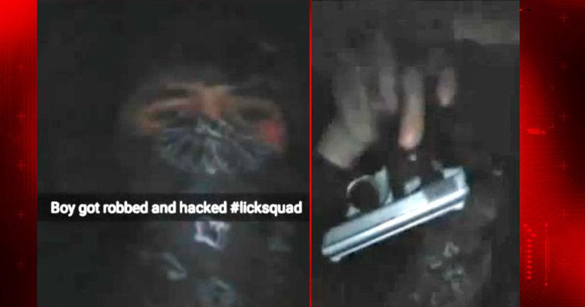 Thieves rob man at gunpoint, brag about heist on victim's Snapchat