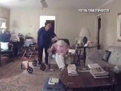Caretaker attacks disabled elderly patient for feeding dog 'human food'