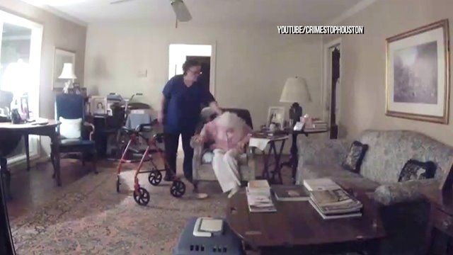 Disturbing Video: At-home caretaker attacks disabled, elderly patient for feeding dog 'human food'