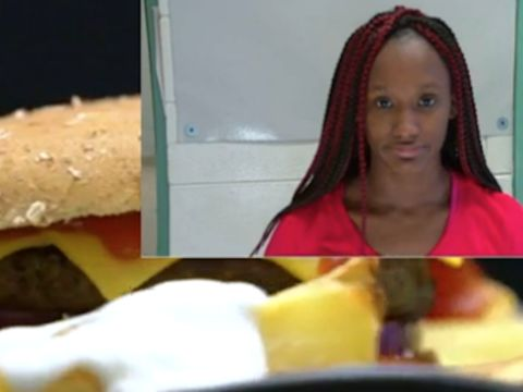 Fast food worker arrested for putting menstrual blood, saliva on burger