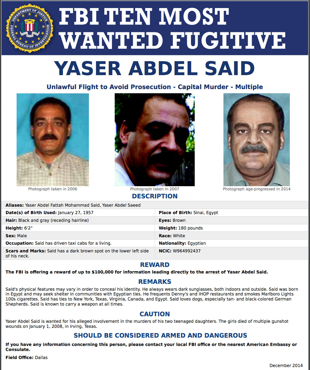 yaser-said-fbi-most-wanted